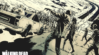 walking, comix, dead, zombie, horror, комикс