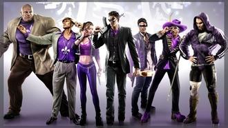 saints row 3, займос, джонни, джонни 2, анхель, олег, пирс, шаунди