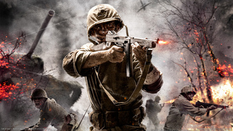 война, call of duty world at war, cod, оружие