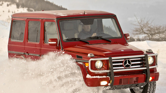 mercedes, wallpapers, g55, compressor, germany, car, auto, benz