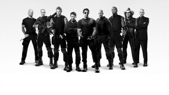 The expendables, кутюр, уиллис, ли, сталоне, неудержимые, стетхем, рурк