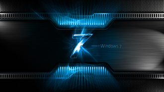 seven, windows seven, blue, microsoft windows, Windows 7, os