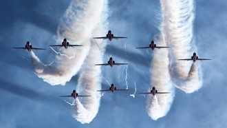 air, , royal, aerobatic, team, force