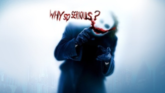 why you so serious, Joker, wallpaper