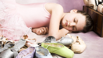 sleeping beauty, children, childhood, ballet shoes , Ballet little girl