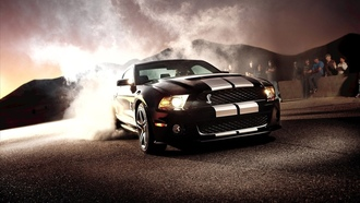 форд, мустанг, shelby, Ford mustang shelby gt 500, ford, gt500