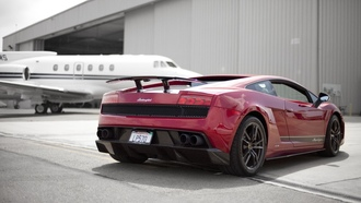 ламборджини, superleggera, ламборгини, gallardo, Lamborghini, red, lp570