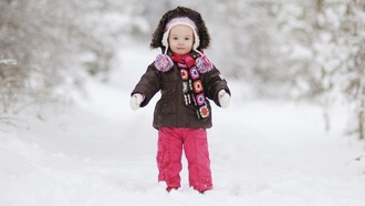 Little girl , winter, lonely, joy, cute, beautiful, children, lovely, child, happiness, elegant