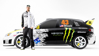 Ken block, 43, subaru, monster, enegy