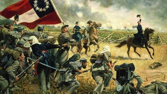 The fourth alabama by don troiani, война, 1861, virginia -- july 21, manassas