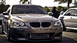 automobile, bmw, beautiful, m5, wallpapers, germany, e60, Car, автомобиль, tuning