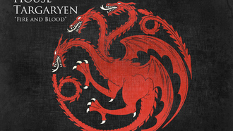 house targaryen, Game of thrones, fire and blood