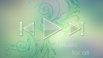 music player, music, Обои, wallpaper, player, abstract