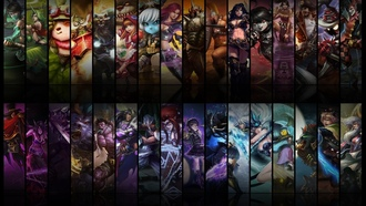 teemo, akali, udyr, League of legends, corki, annie, tristana, soraka, season one, champions