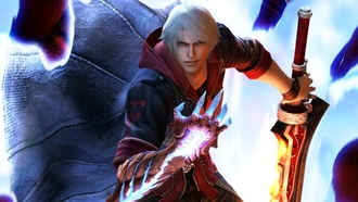Devil may cry 4, sword, dmc, special edition, gun, nero, game wallpapers, devil bringer, red queen