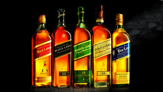 red label, blue label, Johnnie walker, green label, виски, gold label, джонни уокер