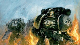 flame, space marines, Warhammer, пламя, космодесант, warhammer 40k
