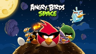 angry birds space, злые птицы, Angry birds