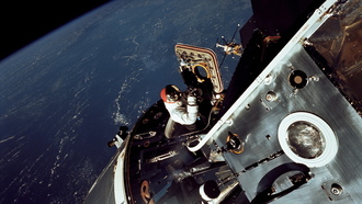 астронавт, Apollo 9, nasa, земля