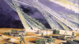 """steel rain"" the army national guard in desert storm by frank m. thomas"