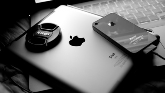 macbook pro, ноутбук, iphone 4s, nikon, ipad 2, Apple, iphone 4, телефон