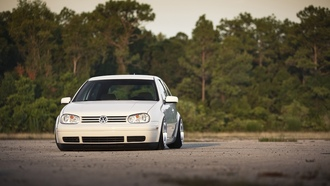 Auto, cars, tunig cars, vw, golf, white, cars walls, gti, volkswagen golf gti, volkswagen golf