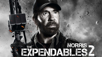 booker, the expendables 2, chuck norris, чак норрис, Неудержимые 2