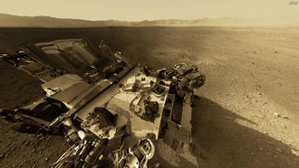 curiosity, Nasa, mars, mountain