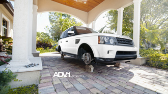 рендж ровер, adv 1, Land rover, range rover, wheels, white, лэнд ровер