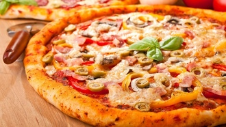 pizza, пицца, вкуснятина, wallpapers, Еда