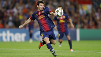 barcelona, champions league, ball, lionel messi, football