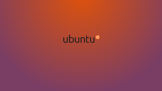 фон, linux, минимализм, Ubuntu, purple