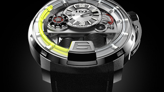 unleashes a masterpiece,  hyt, watch, with the h1 watch, Часы