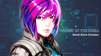 motoko, kusanagi, kokaku kidotai, Ghost in the shell, stand alone complex