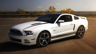 california special package, 5.0, mustang, форд, белый, Ford, мустанг, gt