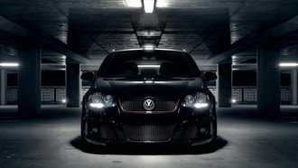 wallpapers auto, vw golf, parking, cars, Auto, стоянка, парковка, volkswagen