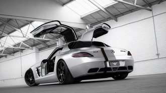 amg, mercedes-benz, мерседес, Wheelsandmore, silver wing, слс, sls, амг
