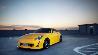 350z, wallpapers auto, nissan 350z, photo, tuning auto, parking, tuning, Auto, nissan, city, cars