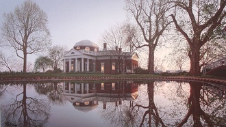 usa, virginia, Jefferson monticello, monticello, national historic landmark, rod chase, painting