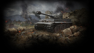 Wot, tiger, world of tanks, танк, тигр