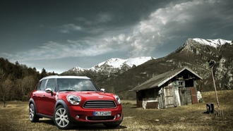 mini, wallpapers auto, mini countryman, auto, german, Auto, bmw, cars, обои авто
