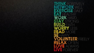 stay, exercise, Слова, be, worry, eat, read, work, think, текст, обои, network, build