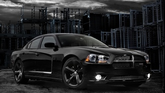 charger, blacktop, блэктоп, 2012, чаржер, додж, передок, Dodge