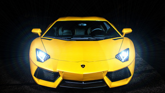 ламборджини, yellow, aventador, lb834, lp700-4, ламборгини, Lamborghini