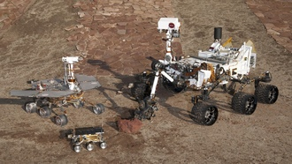 curiosity, spirit and opportunity, mars pathfinder, Марсоходы