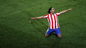 league europe, Radamel falcao, soccer, colombian falcao, атлетико мадрид, football
