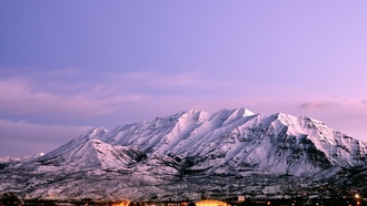 utah, city, timpanogos, Usa, город