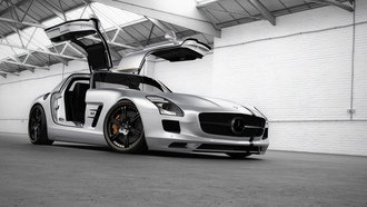 sls, Wheelsandmore, silver wing, amg, слс, амг, mercedes-benz, мерседес