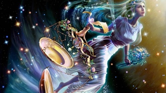 stars, zodiac, starry tales, yutaka kagaya, dike, Cg wallpapers, goddess of justice, maiden, libra