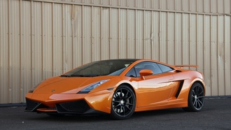 wheels, lp560-4, orange, lamborghini, gallardo, black